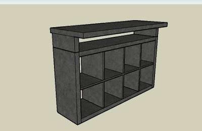 Montar cabina dj de ikea ideas y montaje con sus for Mobile per console