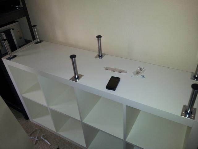 Montar cabina dj de ikea ideas y montaje con sus productos made in ikea mundo dj equipo de - Ikea patas muebles ...