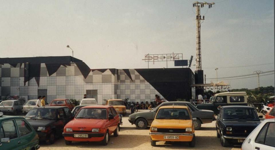 Discoteca Spook Factory, finales de los años 80.