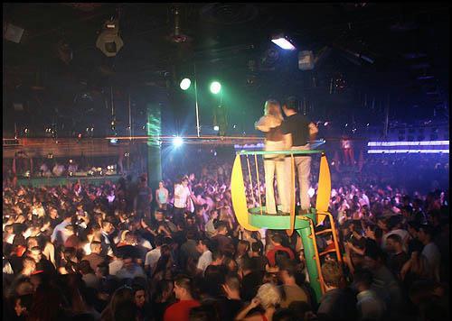 Interior de la discoteca Area Concor.
