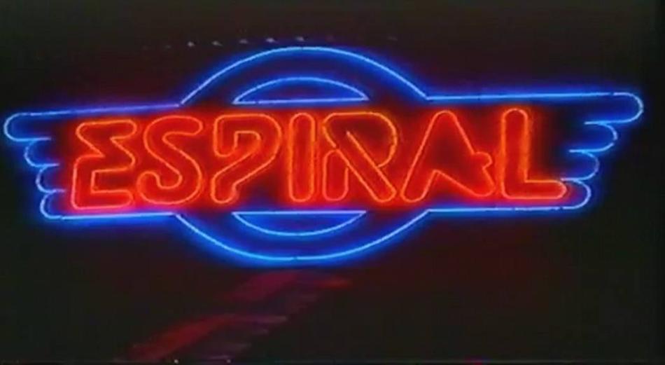 El neon de la discoteca Espiral en L´Eliana