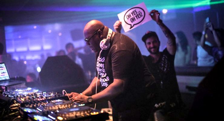 Carl Cox in work