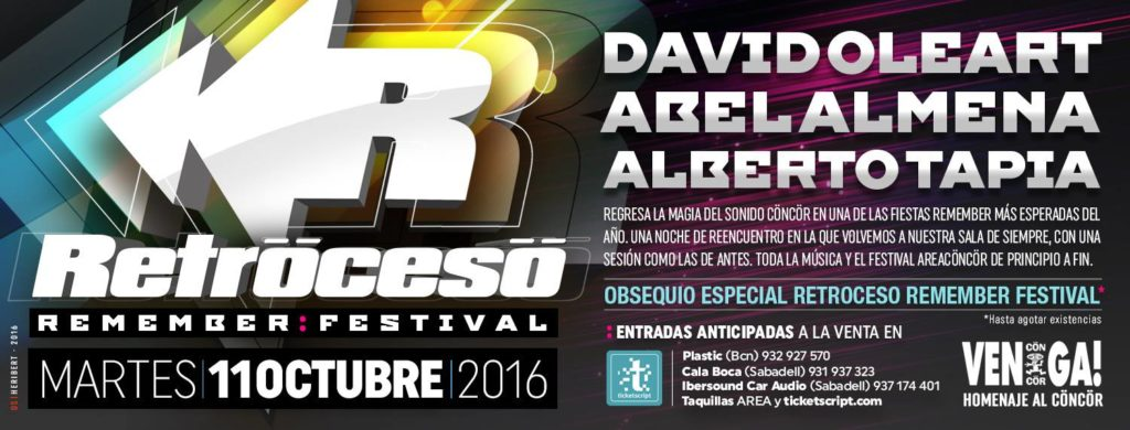 Retroceso Area 2016