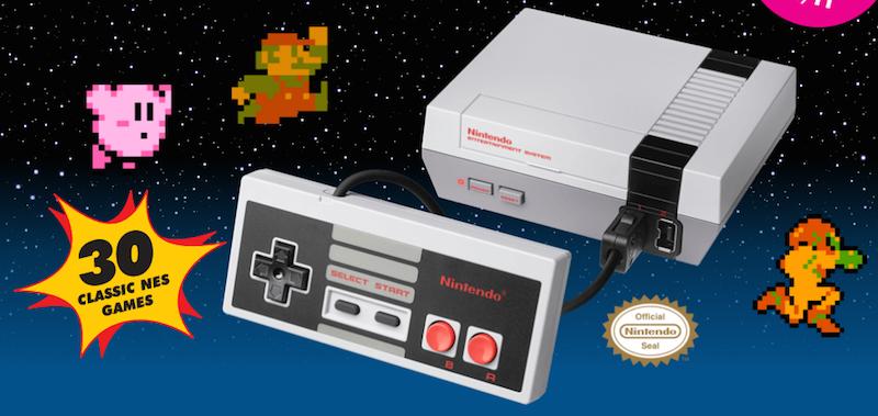 Nes Mini de Nintendo lanzada este 2016.