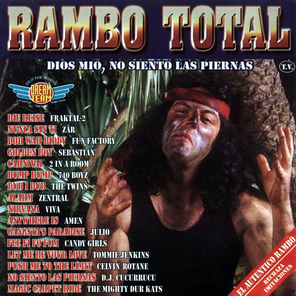 Portada Rambo Total en CD