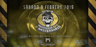 5 Aniversario Makineros 90