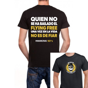 Camiseta Flying Free Fiar