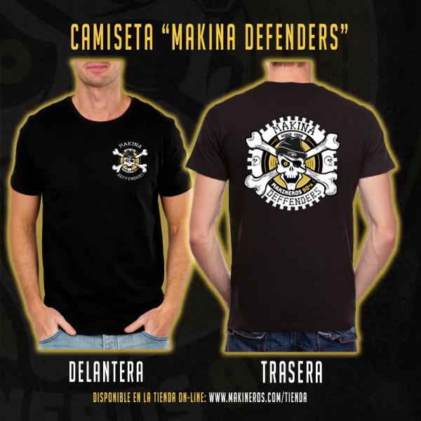 camiseta makina defenders makineros 90 CUAD