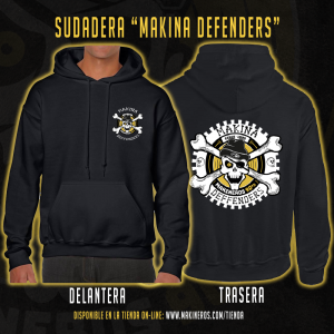 sudadera makina defenders makineros 90