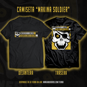 CAMISETA MAKINA SOLDIER MAKINEROS 90