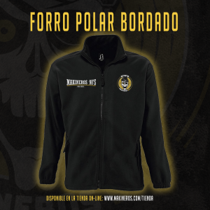 forro polar makineros 90 bordado