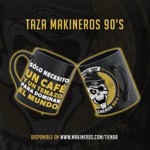 Taza Makineros 90 Café y temazo