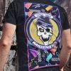 Camiseta Makineros 90s Fever summer neon negra